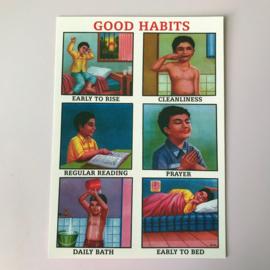 Kaartje good habits