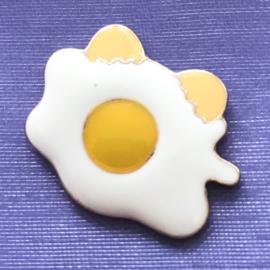 Pin gebakken ei