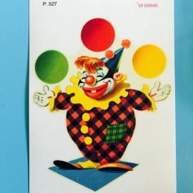 Decal clown 2