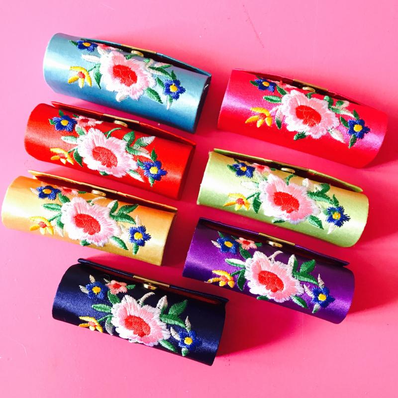 Lipstickhouder met spiegeltje