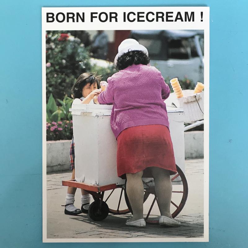 Kaartje born for icecream