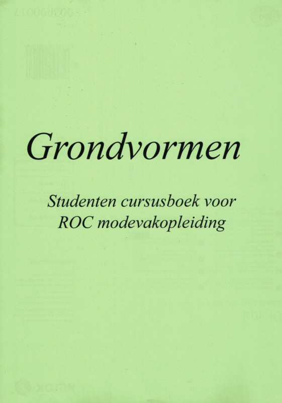 Grondvormenboek voor ROC studenten modevakopleiding