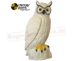 CENTER-POINT 3D witte uil