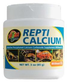 Repti calsium zonder d3  85 gram