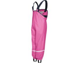Roze gevoerde regenbroek / skibroek / kruipbroek