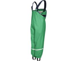 Groene gevoerde regenbroek / skibroek / kruipbroek