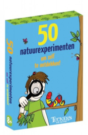 50 natuurexperimenten om zelf te doen