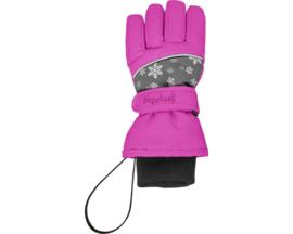 Handschoenen Roze Sneeuwvlok