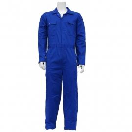 Kobaltblauwe overall