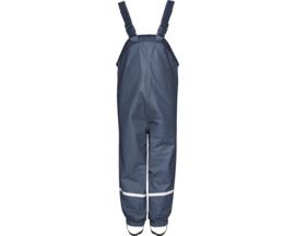 Blauwe gevoerde regenbroek / skibroek / kruipbroek