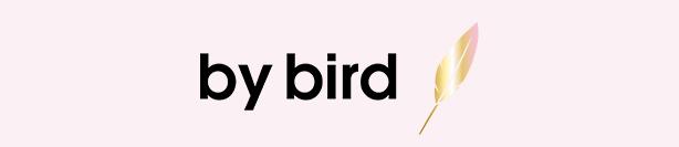 by bird