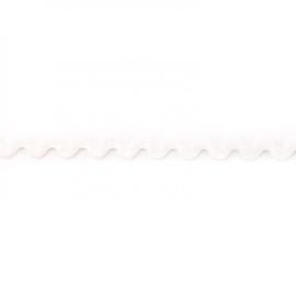 Zigzagband - Wit