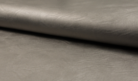 Imitatieleder metallic - Taupe