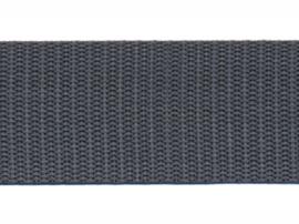 Tassenband - Nylon - Donkergrijs - 30mm