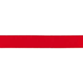 Elastiek soft - Rood - 25mm