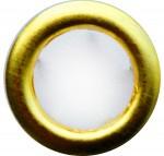 Metalen drukkers 11mm - Goud - 10 sets