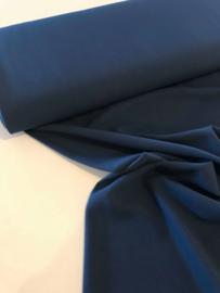 Viscose crepe - jeansblauw