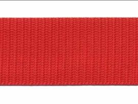 Tassenband - Nylon - Rood - 30mm