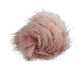 Fluffy pompon Roze