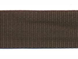 Tassenband - Nylon - Bruin - 30mm