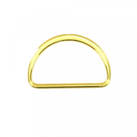 D-ring goud 40mm
