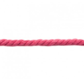Dik gedraaid koord - Fuchsia
