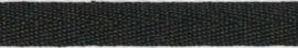 Katoenen lint - ROL 50m - 10mm - ZWART