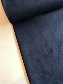 Suede Twill - Marineblauw