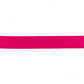Elastiek soft - Fuchsia - 25mm