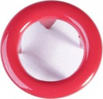 Metalen drukkers 11mm - Rood - 10 sets