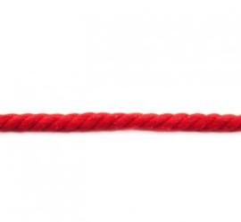 Dik gedraaid koord - Rood