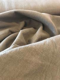 Ramie - biowashed linnen look - grijs