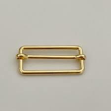 Schuifgesp goud 40mm