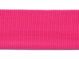 Tassenband - Nylon - Fuchsia - 30mm
