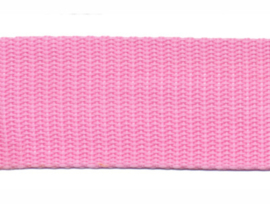 Tassenband - Nylon - Roze - 30mm