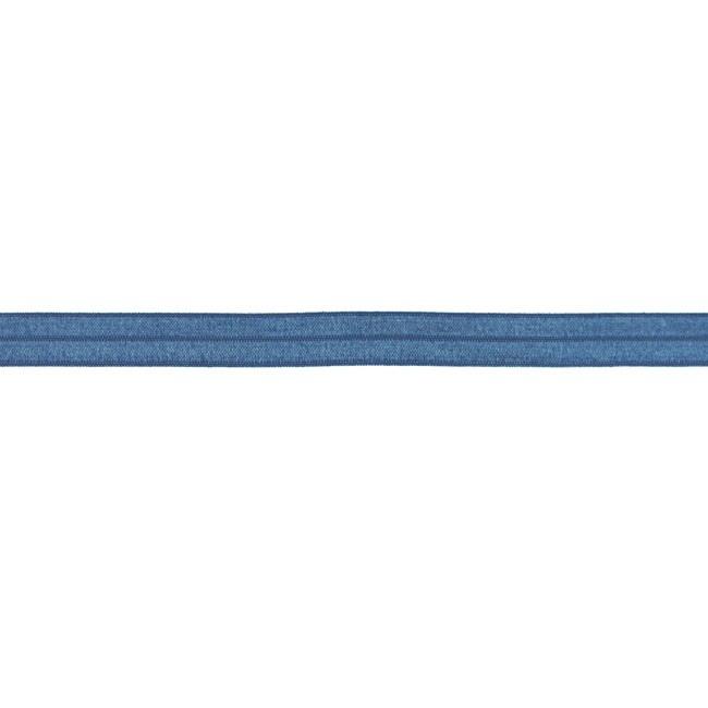 Vouwtres 15mm - Jeansblauw