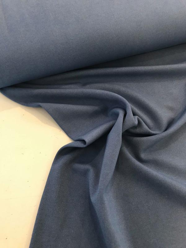 Tencel met jeanslook - lichtblauw