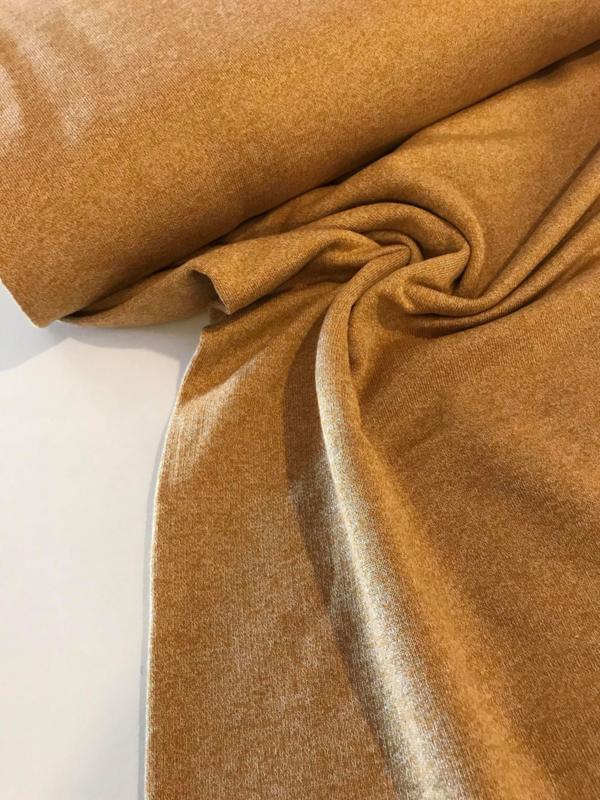 Knit Fabric - Yellow Ochre