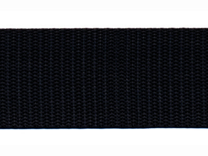 Tassenband - Nylon - Zwart - 30mm