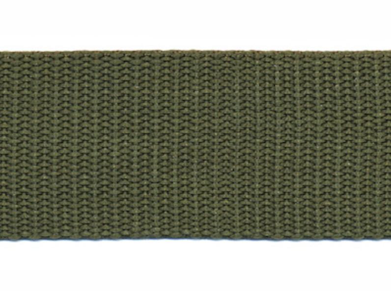 Tassenband - Nylon - Kakigroen - 30mm