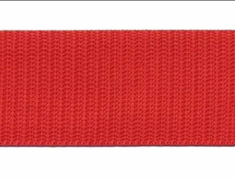 Tassenband - Nylon - Rood - 30mm