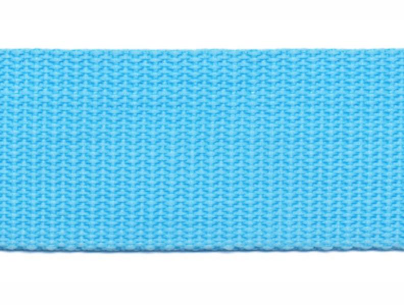 Tassenband - Nylon - Lichtblauw - 30mm