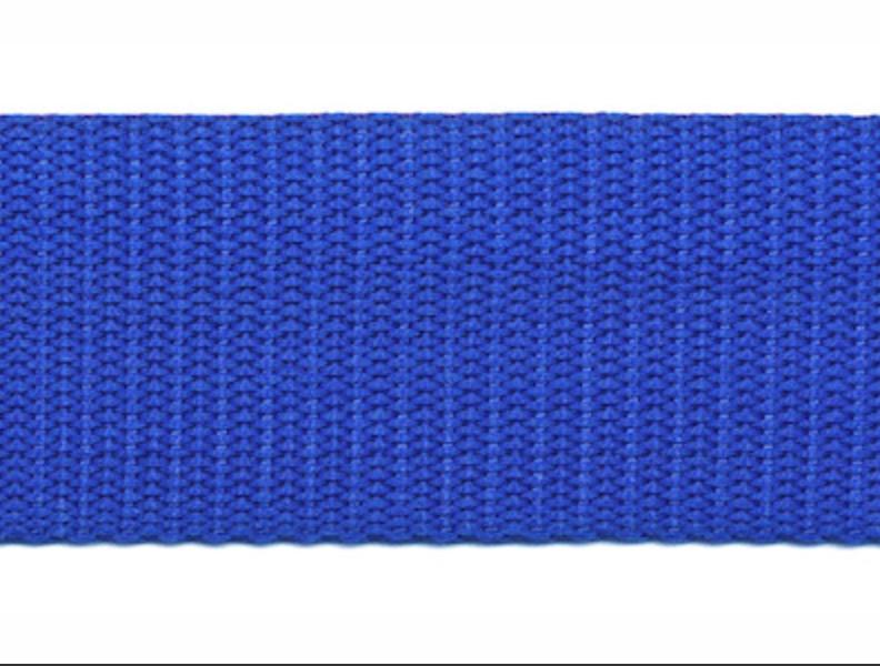 Tassenband - Nylon - Kobaltblauw - 30mm