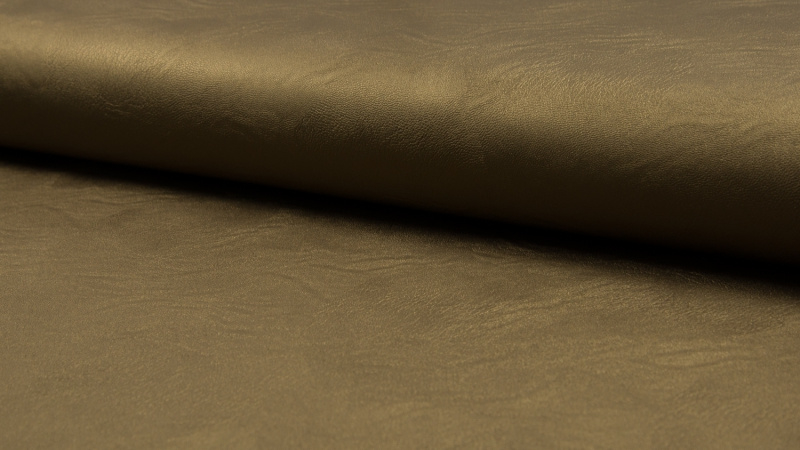 Imitatieleder metallic - Bronze