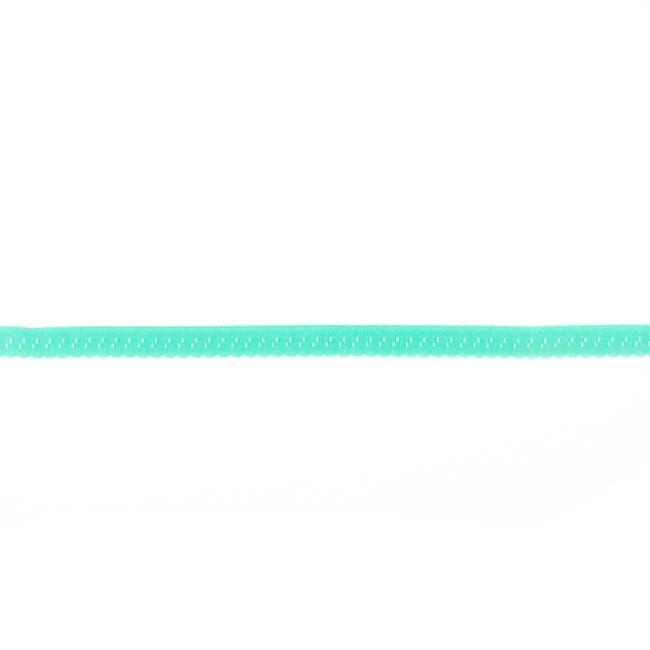 Elastische Biaisband Luxe - Turquoise