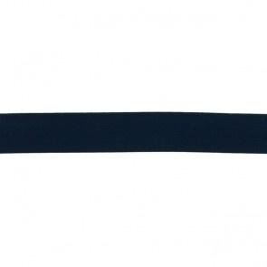 Elastiek soft - Marineblauw - 25mm