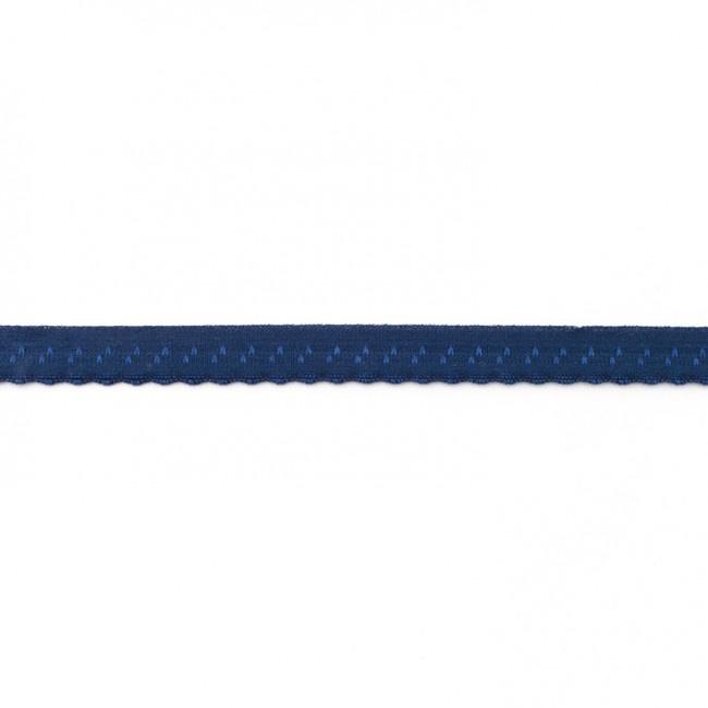 Elastische Biaisband Luxe - Donkerblauw