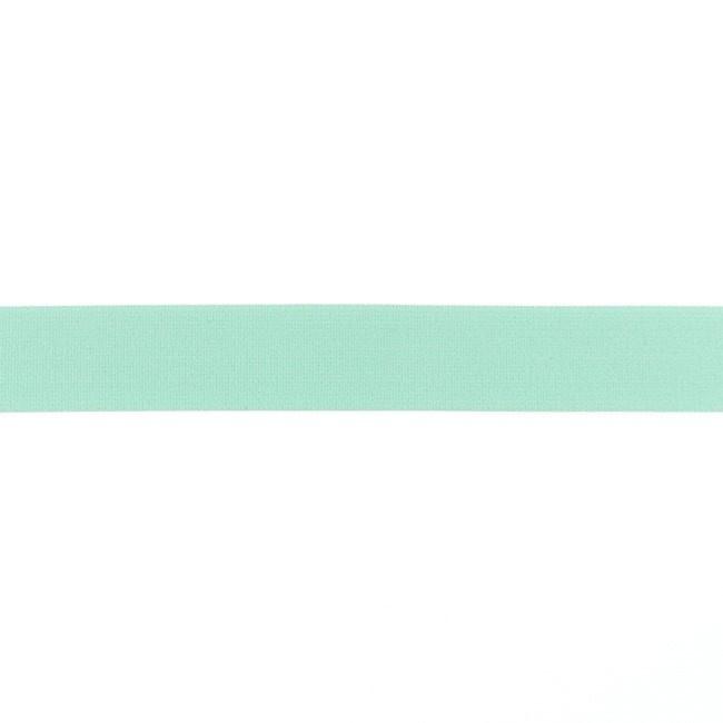 Elastiek soft - Mint - 25mm