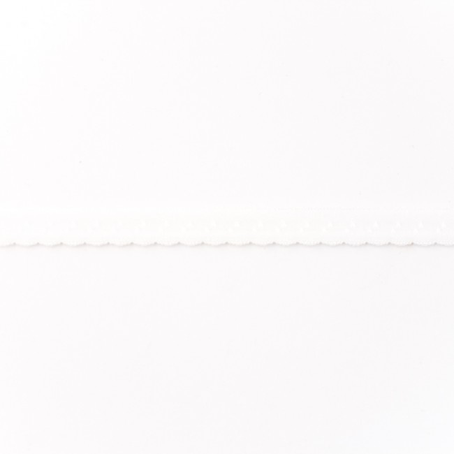 Elastische Biaisband Luxe - Wit