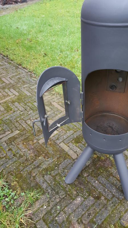 Hedendaags Lpg kachel met glas | Terraskachels LPG tank. | LM staal en zo XX-18
